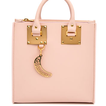 Sophie Hulme Blossom Pink Albion Square Tote