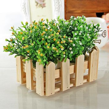 Decoration Wooden Hollow Out Storage Box Home Decor [6281845958]