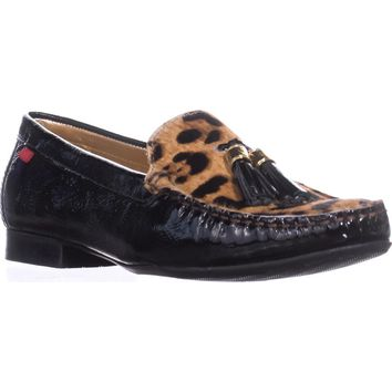 Marc Joseph NY Fashion Shoes Wall Street Tassel Loafers, Black Patent, 11 US / 42 EU