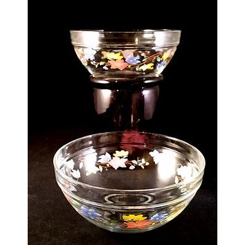 Heat Resistant Glass Mixing Bowls  S/2