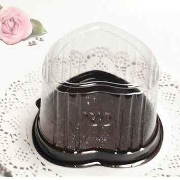 Clear Backpacks popular 100PCS Clear cake box,Transparent individual cake packing boxes,Birthday party favor supplier AT_62_4