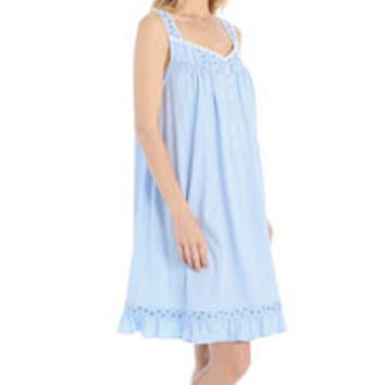 Eileen West 5315922 Ocean View Sleeveless Waltz Nightgown