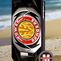 White Ranger Power Morpher MMPR - iPhone 4/4s/5 Case - Samsung Galaxy S3/S4 Case - Blackberry Z10 Case - Ipod 4/5 Case - Black or White