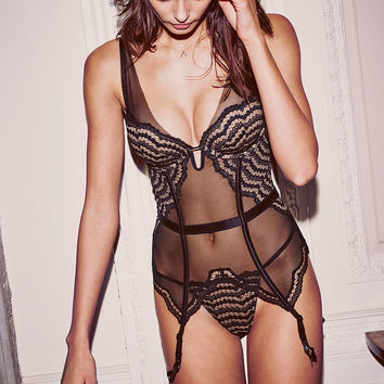Scalloped Lace Merrywidow - Very Sexy - Victoria's Secret