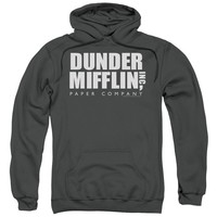 The Office - Dunder Mifflin Adult Pull Over Hoodie