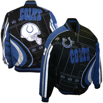 Indianapolis Colts Big Play Cotton Twill Jacket