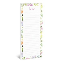Flower Love Magnetic Notepad