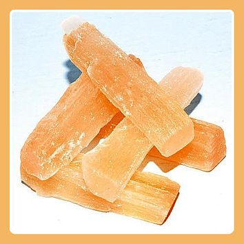 """Mental Clarity"" Orange Selenite"
