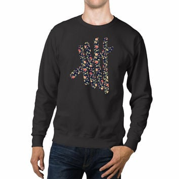 5 Seconds Of Summer Logo Floral Unisex Sweaters - 54R Sweater