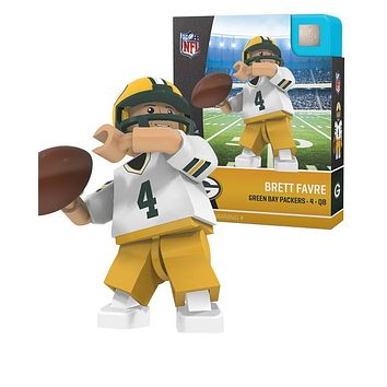 Green Bay Packers BRETT FAVRE Legend Away Limited Edition OYO Minifigure