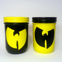 WuTang Clan Jar by DopeJarz on Etsy
