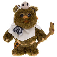 """Disney Parks Star Wars Paploo the Ewok 9"""" Plush New with Tags"""