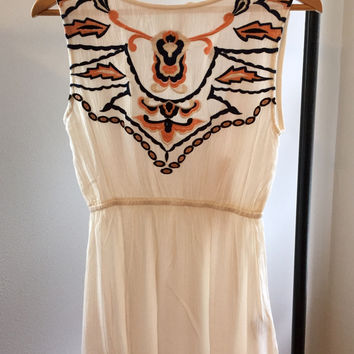Embroidered Blouse in Ivory