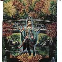 White Tara - Daylight Dancer - Rod Tapestry