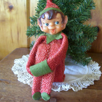 Antique Christmas ElvePixie by Christmasnotions on Etsy