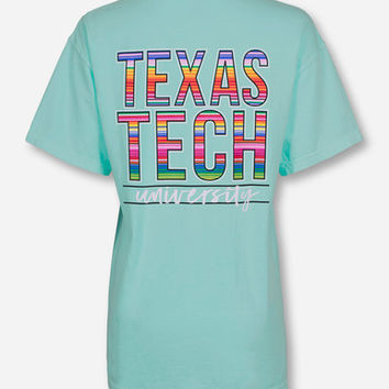 Texas Tech Baja Blanket Stack on Island Reef T-Shirt