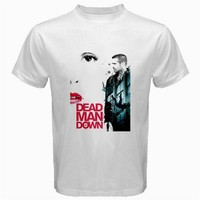 dead man down white Tshirt size S,M, L, XL, XXL, XXXL, 4XL and 5XL