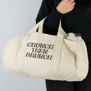 Crunch Then Brunch Duffle Bag