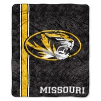 Missouri Tigers NCAA Sherpa Throw (Jersey Series) (50in x 60in)