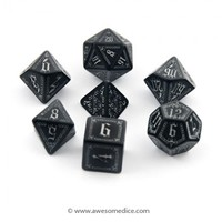 Pathfinder Black Carrion Crown 7-Dice Set | Awesome Dice