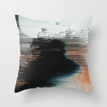 Disruptive Throw Pillow by Ducky B