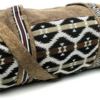Brown - Navajo Duffel bag