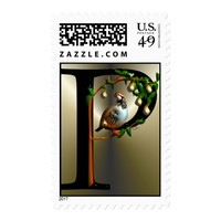 Partridge in a Pear Tree Postage