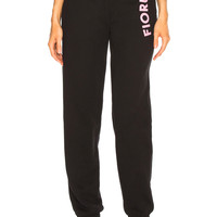 FIORUCCI Equipe Sweatpants in Black | FWRD