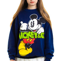 Vintage 90's Mickey & Co. Pullover Sweatshirt - XS/S