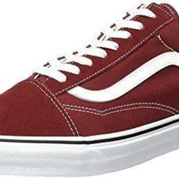 Vans Old Skool Madder Brown Mens Suede Skate Trainers