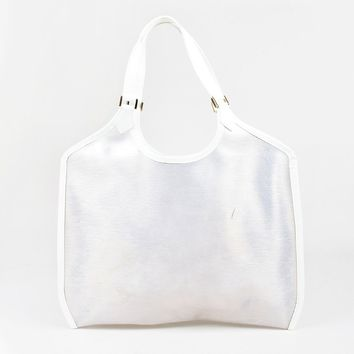 Louis Vuitton Clear Epi Plage Lagoon Bay GM Tote Bag