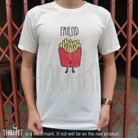 Best Friend French Fries BFF TShirt - Tee Shirt Tee Shirts Size - S M L XL 2XL 3XL