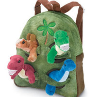 dinosaur buddies backpack - Chasing Fireflies