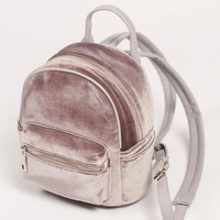 Free People Night Fever Velvet Backpack