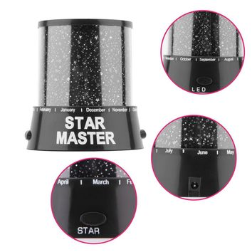 Brand New Romantic Amazing LED Starry Night Sky Projector Lamp Star light Cosmos Master Hot Sale