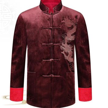 chinese style man jacket Typical fsashion customized outerwear DO2003