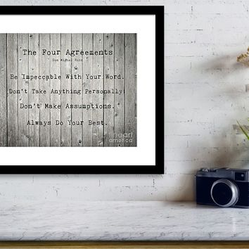 The Four Agreements by Andrea Anderegg Photography