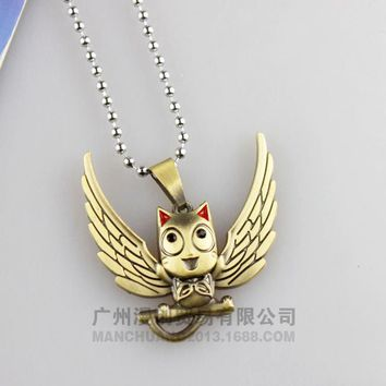 Fairy Tail Happy Cosplay Necklace Anime Fairytail Costume Accessories