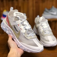 [Free Shipping ]Undercover X Nike React Element AQ1813-345 Basketball  Sneaker
