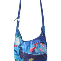Disney The Little Mermaid Ariel & Eric Boat Hobo Bag