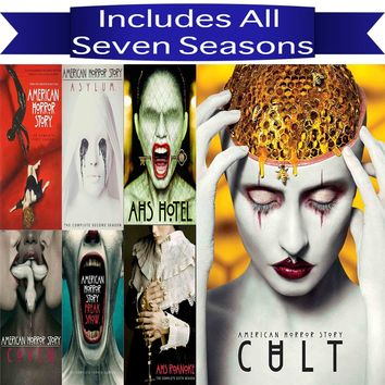 American Horror Story DVD Series Seasons 1-7 Set