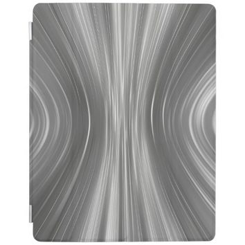 Gray Futuristic Driving Dreams iPad 2/3/4 Cover