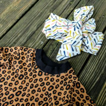 Animal Print Shirts for Toddlers - Cheetah Top