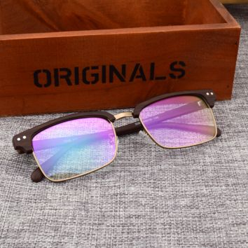 Unique Wood Grain Sunglasses