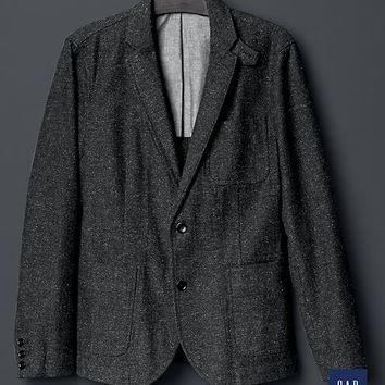 Gap Men + GQ The Hill Side Herringbone Tailored Jacket