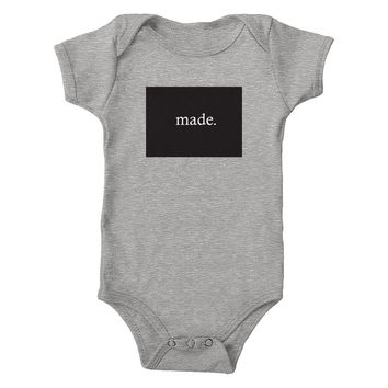 Colorado Made 100% Cotton Infant One-Piece Bodysuit