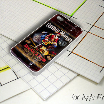 Captain Morgan Black Jamaica Rum iPhone 5 Case