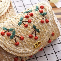 Lola Tote in Sweet Cherry