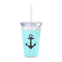 Anchor Chevron Tumbler