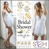 Bridal Shower with Social Butterfly House
